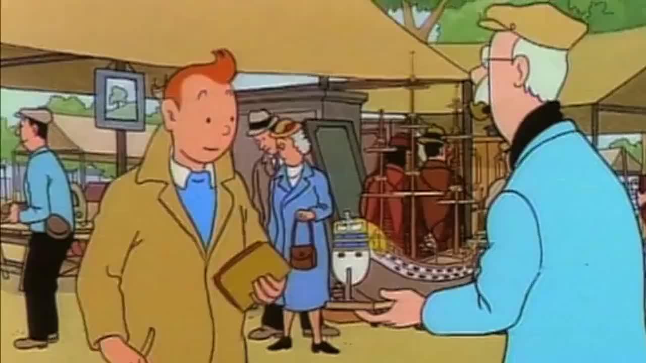 丁丁历险记为什么这两个人要争着买一轮船模型丁丁有些疑虑