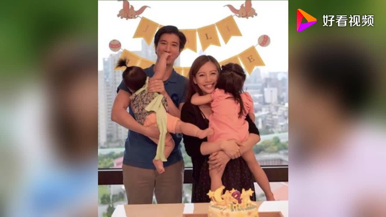 王力宏娇妻李靓蕾带孩子运动 小儿子头顶柚子皮胖嘟嘟的超可爱