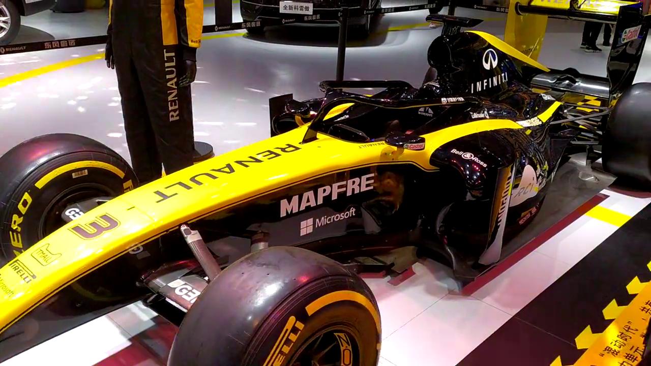 国际车展之F1赛车
