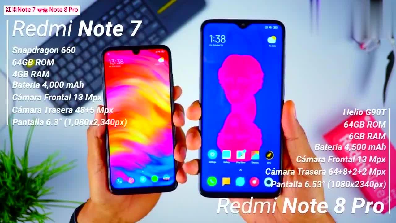 红米 Note 7 vs 红米 Note 8 Pro,速度和拍照方面有多大提升