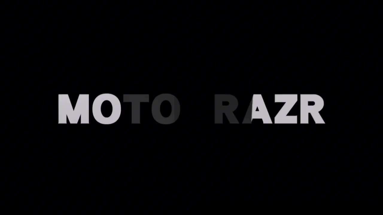 摩托罗拉回归Moto Razr折叠屏手机11月13日发布