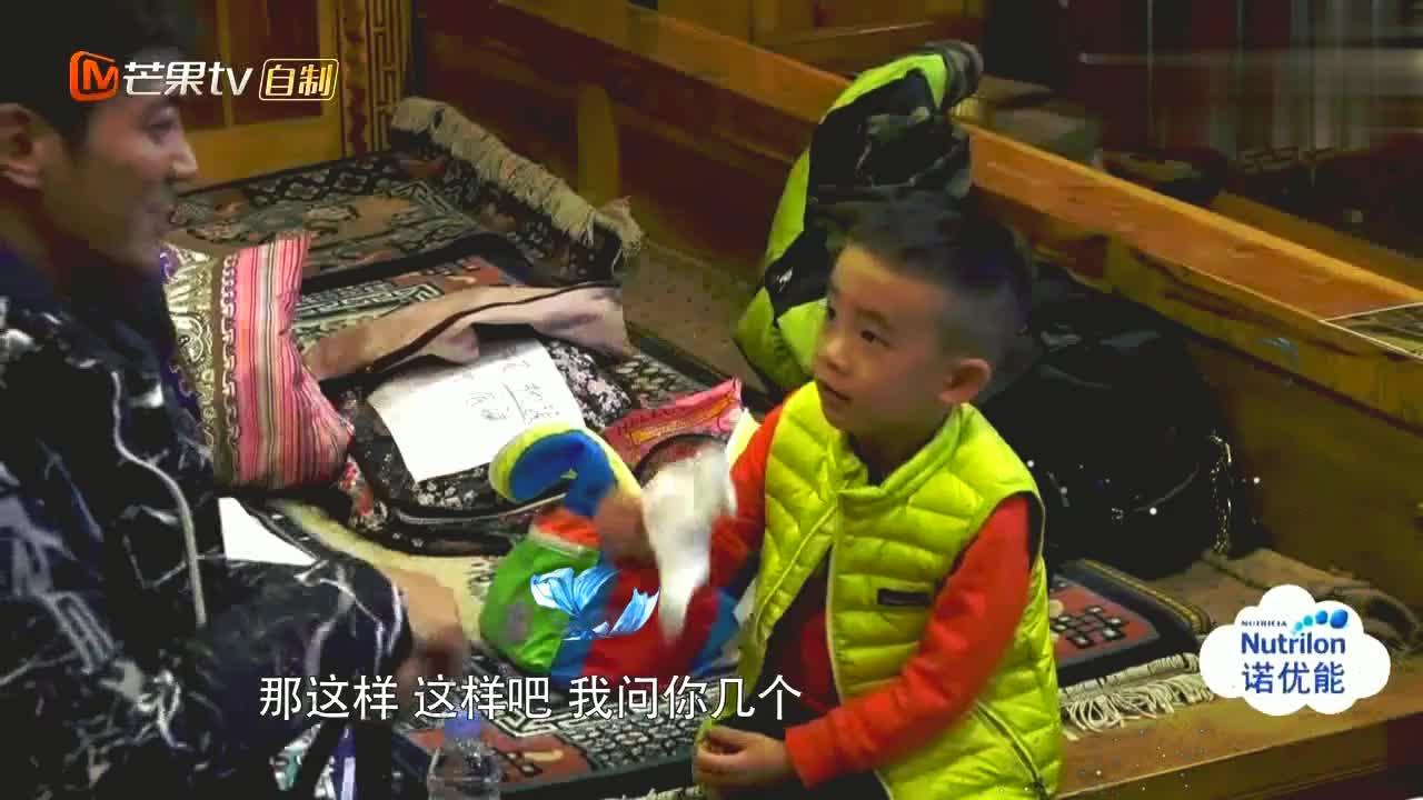 Jasper和杜江聊天,说爸爸在家听妈妈的话!春哥在家里地位不高啊!
