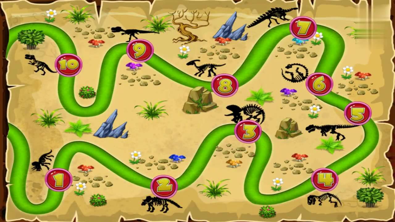 恐龙总动员之寻找远古恐龙化石动画玩具