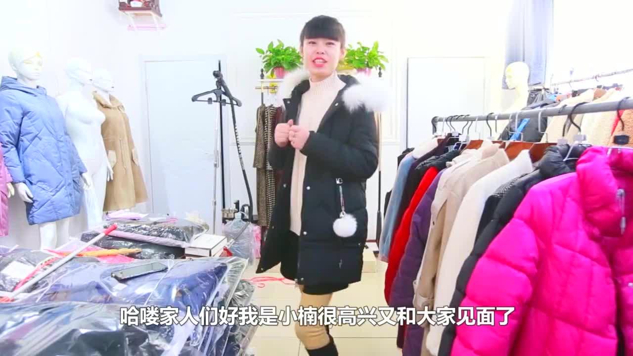 冬季外套推荐:卡兔毛真毛领时髦洋气,整体效果修身还显瘦