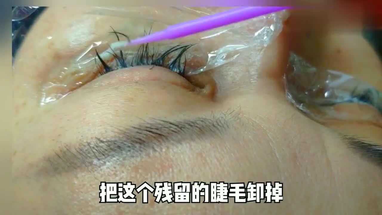 美女为显眼睛大嫁接12mm睫毛,真的越长越好看吗?