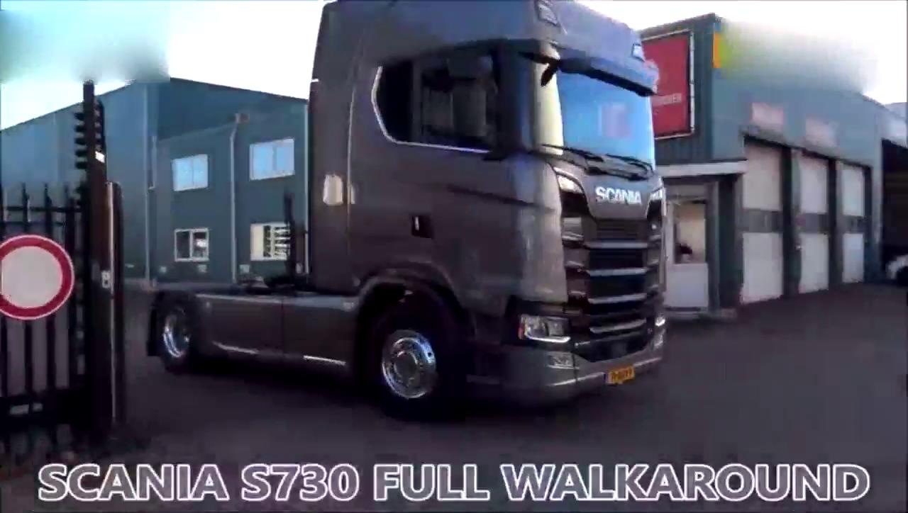 欧洲卡车模拟2:470货柜斯堪尼亚双马力卡车送根西图解图片