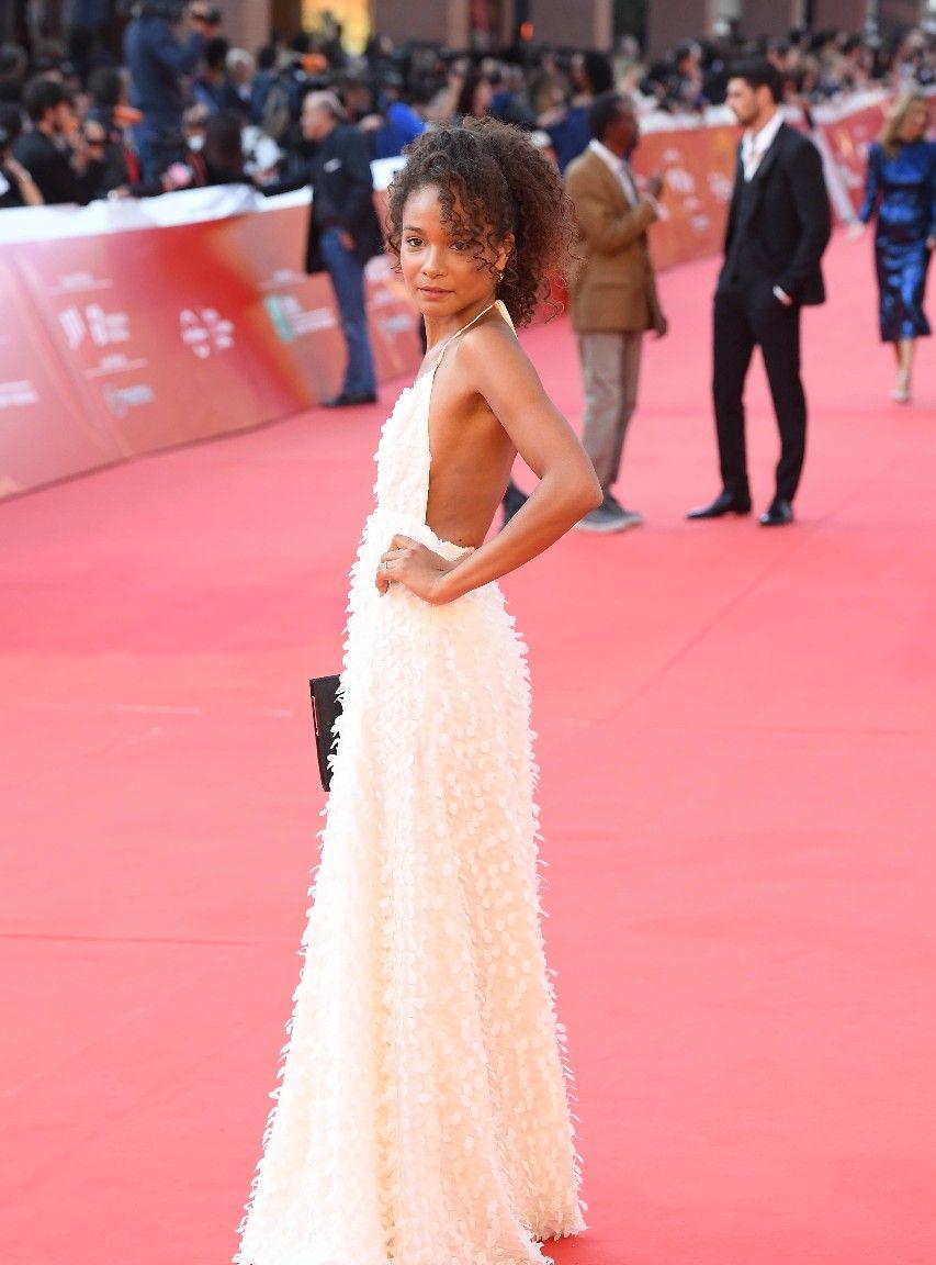 LA娱乐 意大利演员弗吉尼亚·迪奥普,出席2019年罗马电影节