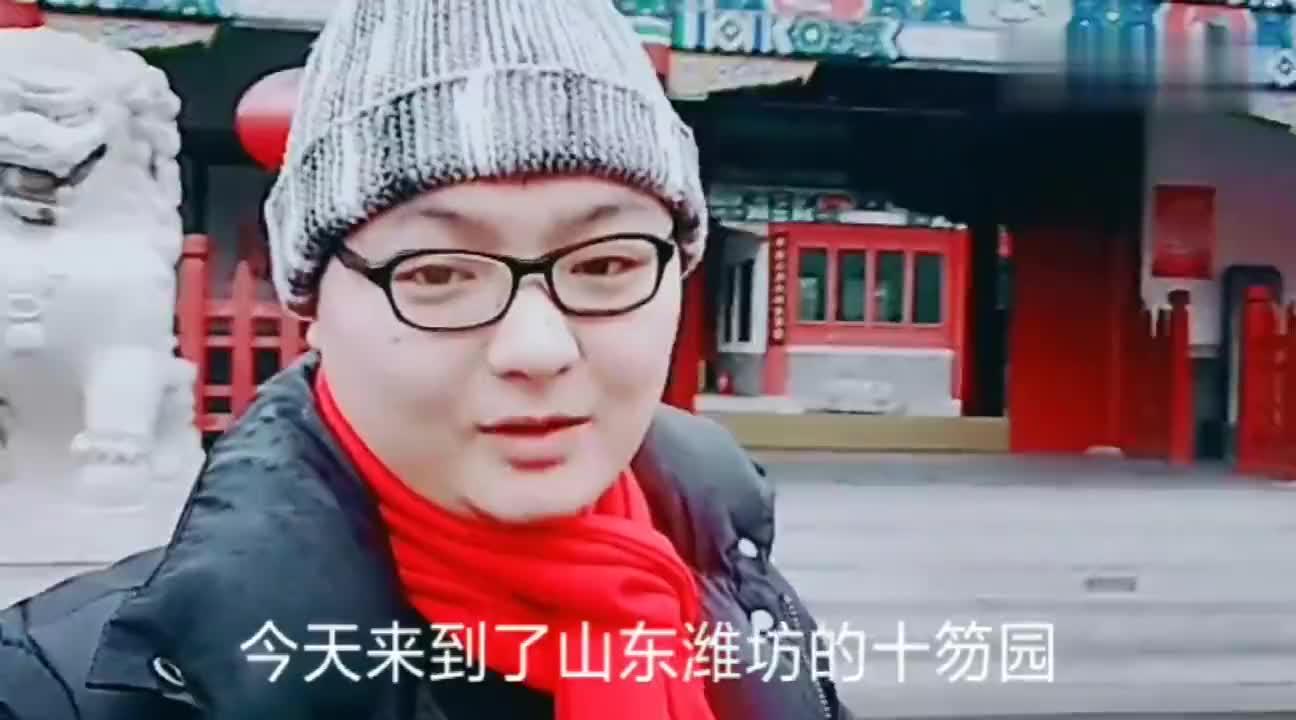 山东潍坊十笏园郑板桥纪念馆里面都有什么走吧和我一起看看
