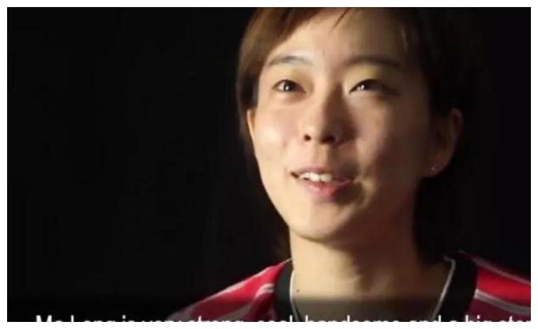公开赞美,特别崇拜,日本女乒队员石川佳纯是马龙的小迷妹