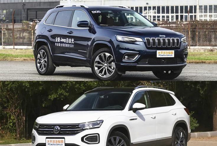 中型SUV之间的较量, Jeep自由光VS大众探岳究竟该选谁?