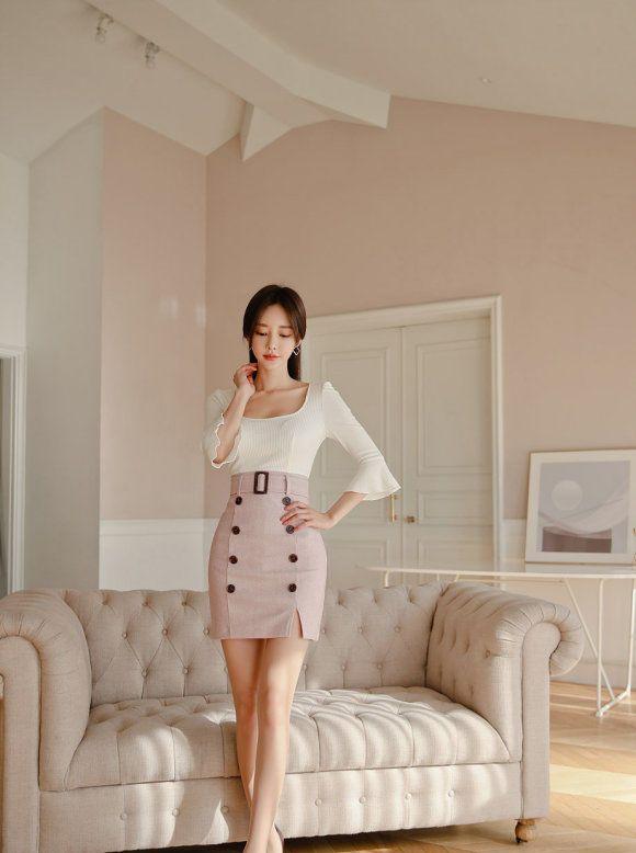 韩国名模孙允珠:清新优雅的美女,有气质迷人风采!
