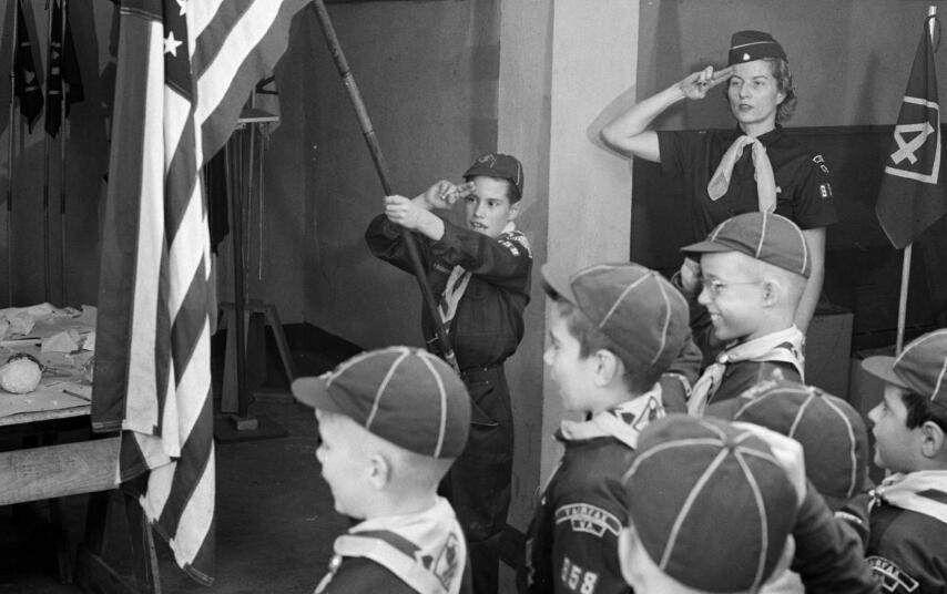 二十世纪的美国童子军,原来是这样训练的,最后一张寓教于乐