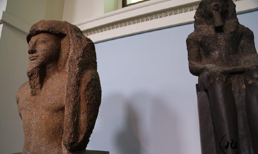 大英博物馆的埃及馆,就差金字塔没搬来啦