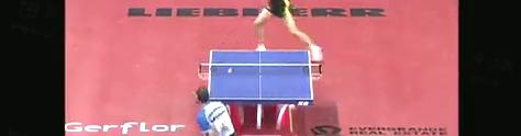 2008世乒赛 王励勤vs科贝尔 乒乓球比赛剪辑