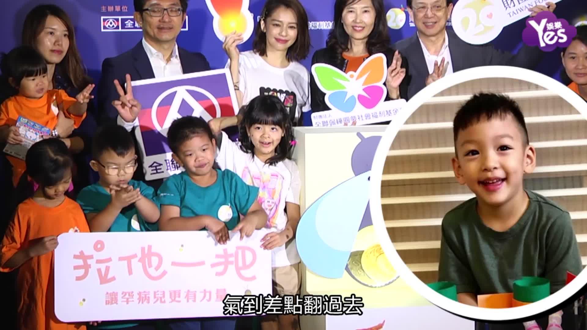 徐若瑄被儿子一句话惹毛 无缘金马影后不遗憾