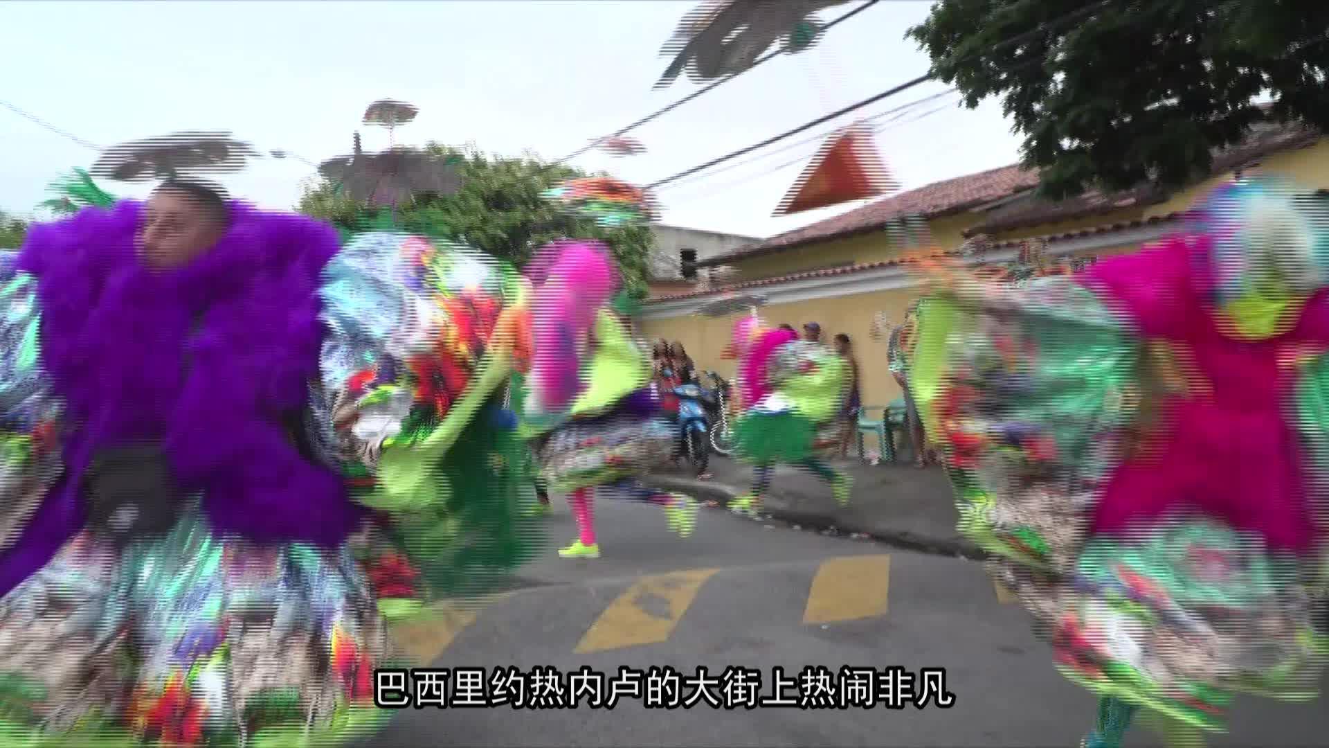 巴西里约热内卢狂欢节