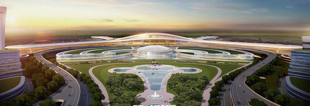 震撼!兰州中川国际机场三期效果图曝光