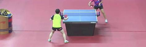 2016韩国公开赛 女单(U21) 32强赛 阿尔韦罗vs金智荷