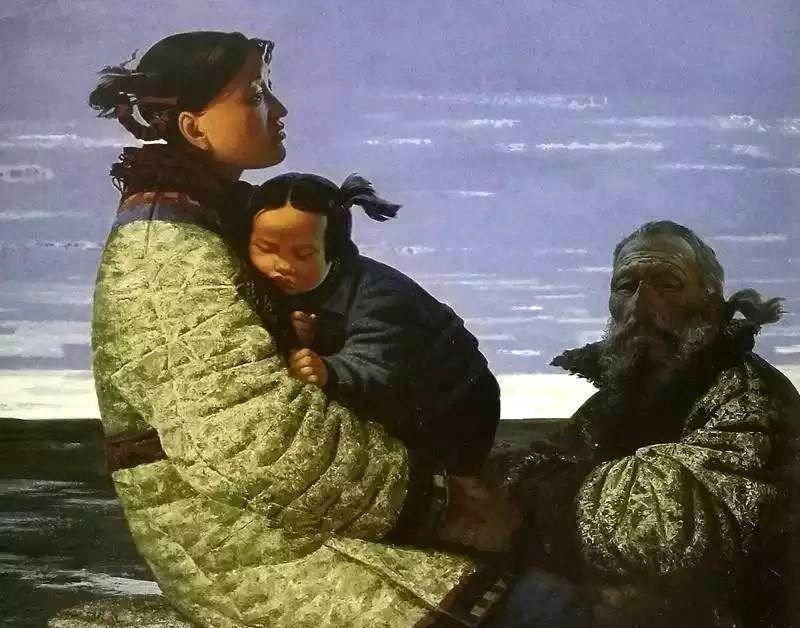 英年早逝的画坛才子,克拉夫佐夫10幅人物油画精品欣赏
