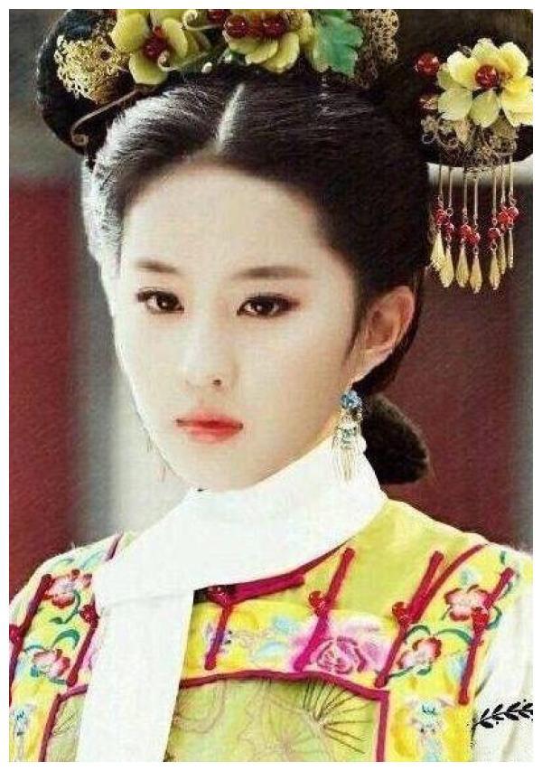 """""""才貌双全""""的刘亦菲不演清宫戏,当她穿上宫廷装,网友沦陷了"""