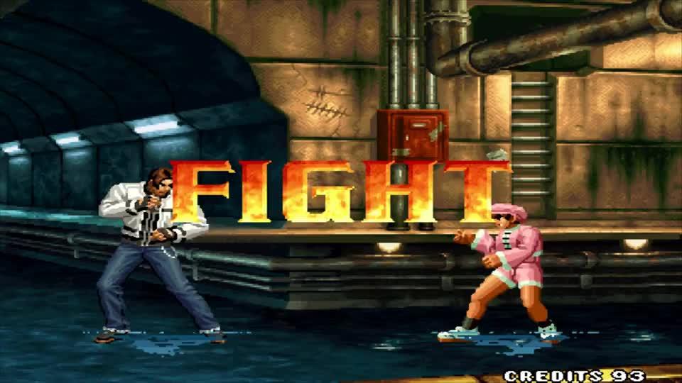 拳皇99全人物最强角色不是八神不是草薙京而是他你能猜到吗