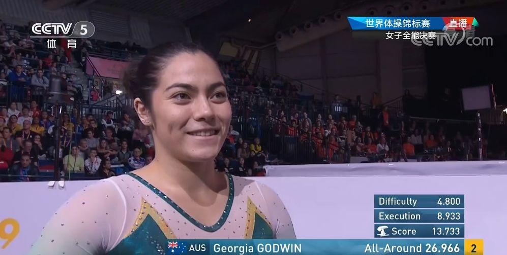 2019世界体操锦标赛女子全能决赛,各国体操健将美女们