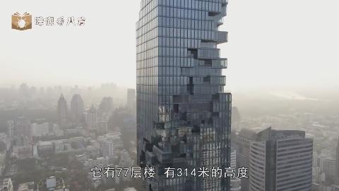 泰国第一高楼:白天被议论为快倒塌的楼,到了夜晚都住嘴了