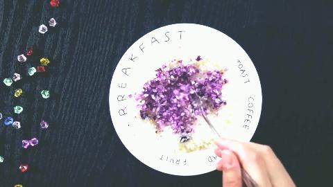 为了做无硼砂米粒起泡胶,从妈妈厨房偷拿大米,手感奇特超好玩!