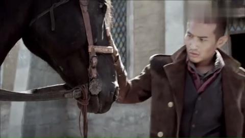 马也是通人性的动物,为了救自己的主人,狂奔回家搬救兵