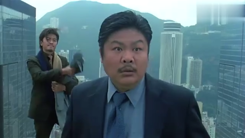 小伙毫无惧色,顶着个青烟从大厦顶层纵身一跃,不料却莫名消失了