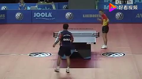 有多少人看过马琳对陈卫星的这一记精彩回合乒乓球迷不可错过