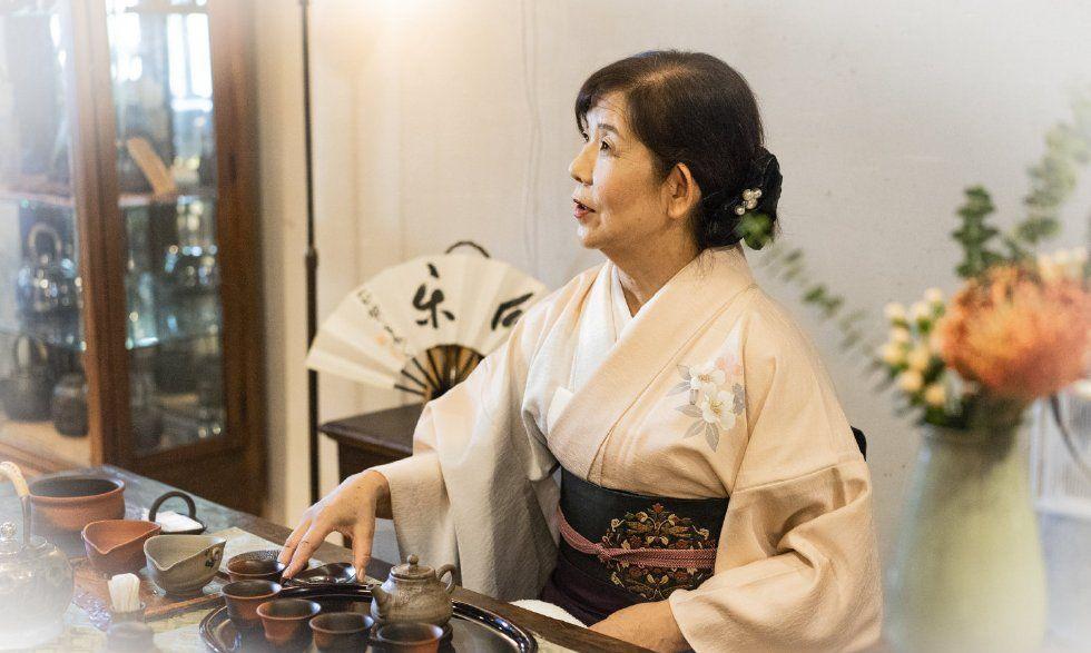 可居茶室风月茶器作品展 日本六大古窑之常滑烧