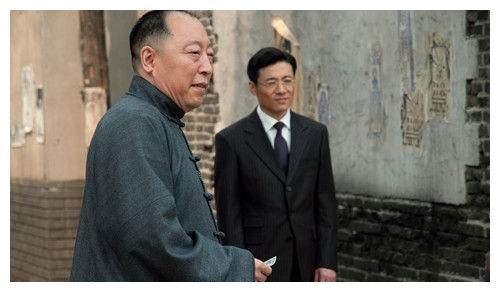 《北平无战事》,王庆祥饰演的方步亭和陈宝国饰演的徐铁英最精彩