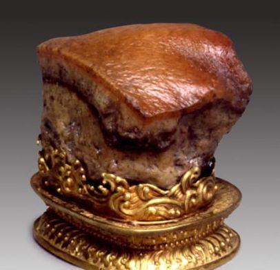 神奇文物:图1形状神奇肉形石,图6做工精湛兽首玛瑙杯