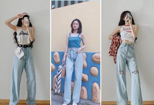 夏日必备单品,阔腿裤简单百搭,让你显瘦显高又时尚