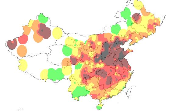 2019污染地图哪里可以看到