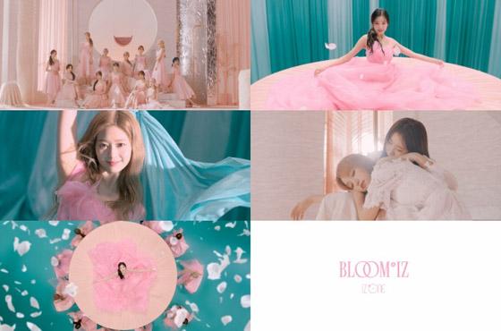 IZ*ONE回归11月11日确定 首次发表完整专辑《BLOOM*IZ》
