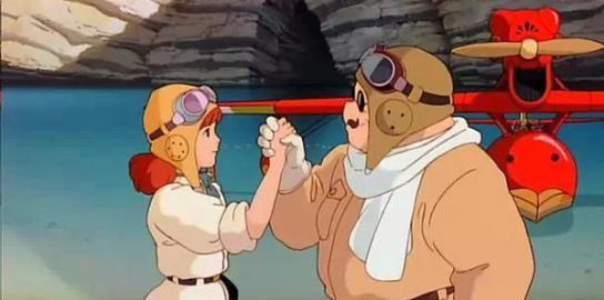 宫崎骏的动画片处处充满着爱情的味道!