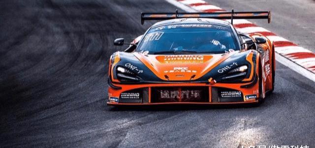 韩寒驾驶迈凯伦战车斩获首个GT3冠军!