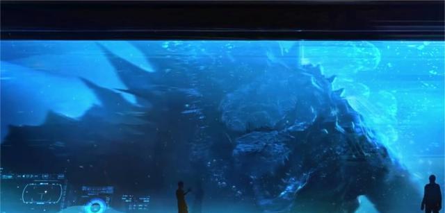 《哥斯拉2怪兽之王》曝新图,东方龙特性明显,哥斯拉动作有玄机