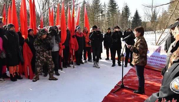 穿林海,跨雪原……老黑河抗联密营遗址正式对外开放