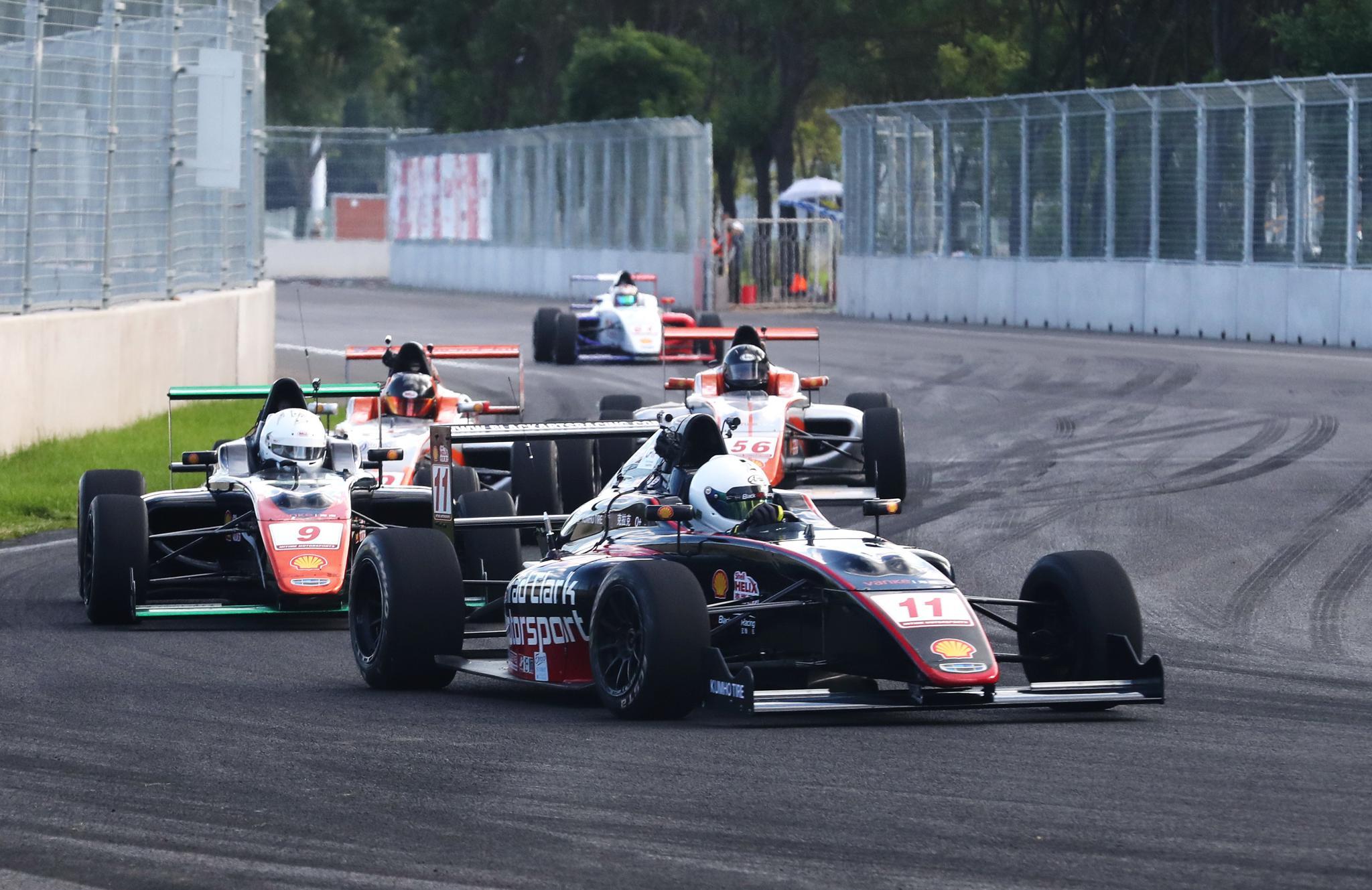 赛车——国际汽联F4中国锦标赛(秦皇岛站)赛况