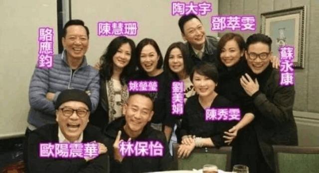 """陈秀雯曾经被称为""""亚视一姐"""",因老公欠下债务,57岁再复出"""