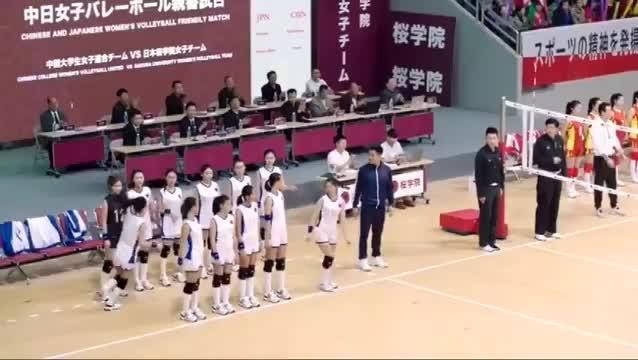 安乐代表中国队对战日本队场面太激烈了看谁战胜到最后