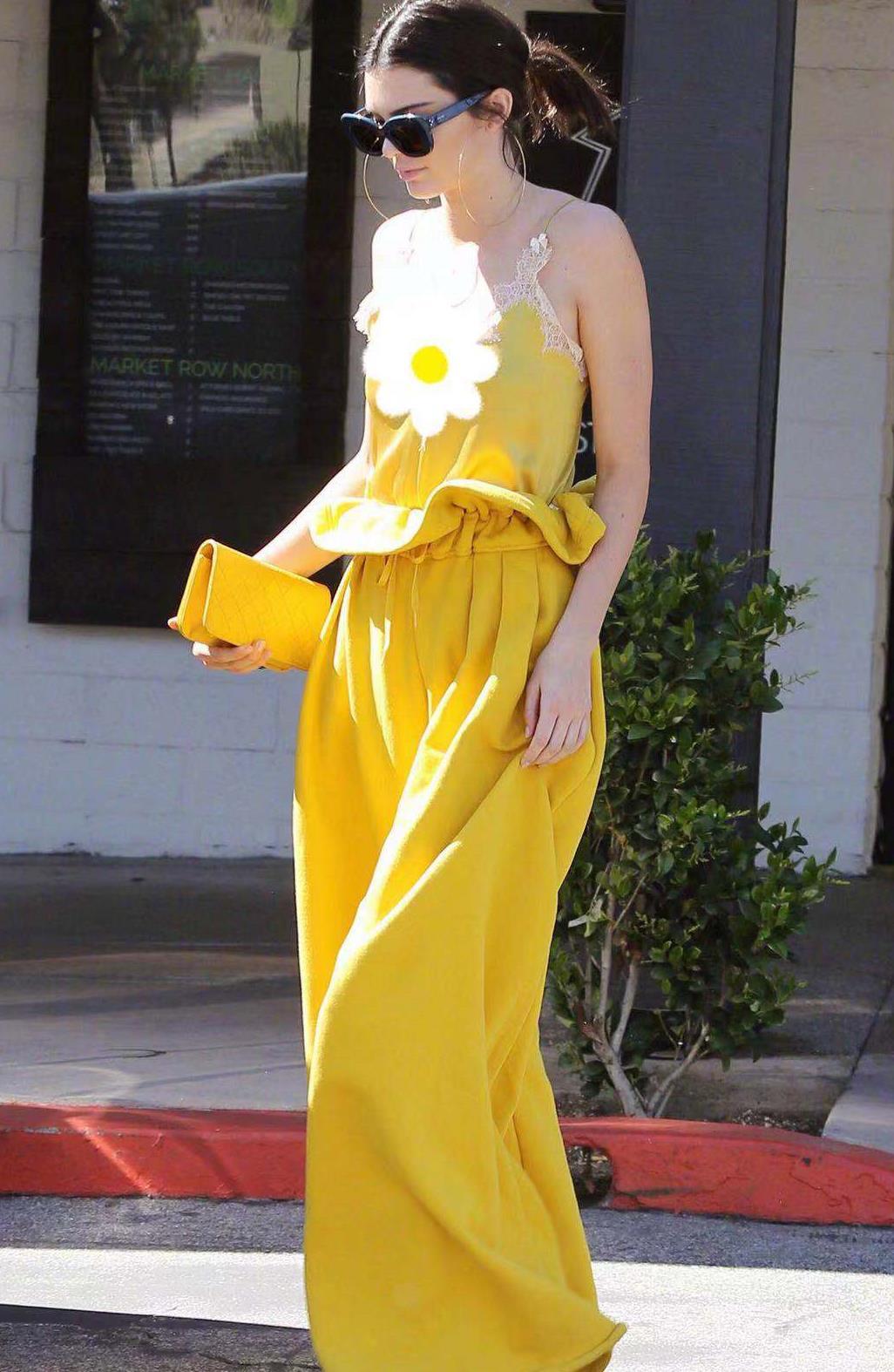 """麦皮的肯豆,穿起黄色私服来真""""白"""",每个人都能美成""""肯豆"""""""