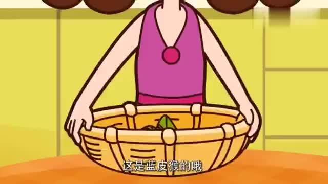 可可小爱:可可和小爱真是个下吃货,看到粽子好了,眼睛都发光了