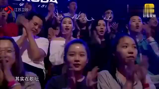 蒙面唱将揭面后全场尖叫巫启贤说她是顶级女歌手的接班人