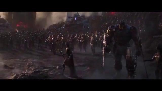 复仇者联盟4:当超级英雄们重新集结时,灭霸有点胆怯了