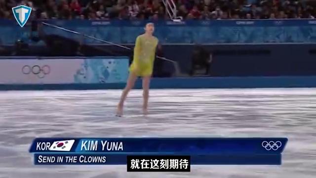 花样滑冰-韩国女神金妍儿,动作完美到极点,感动所有人!美如画