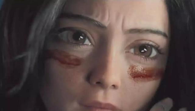 阿丽塔的脸部表情来自这位大美女,真人如此美丽,眼睛也很大!图片